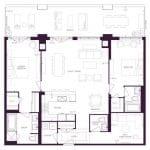 Varley Condos - 108 - Floorplan
