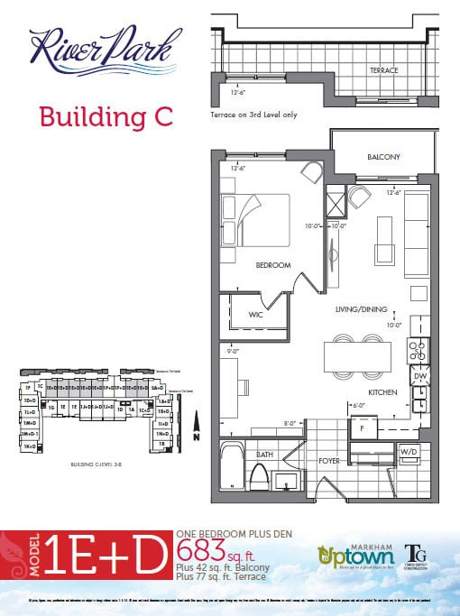 river park condos at uptown markham | price lists & floor plans