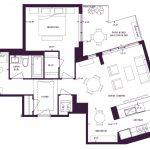 Varley Condos - 208 - Floorplan