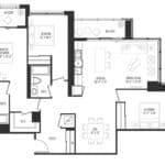 Vanguard Condos - 2701 - Floorplan