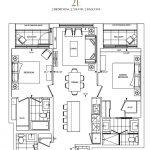 Bianca Condos - 2E - Floorplan