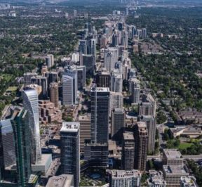 4800 yonge street condos aerial