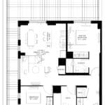 57 Brock - Dufferin - Floorplan