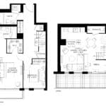 57 Brock - Skytown 3 - Floorplan