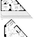 57 Brock - Skytown 6 - Floorplan