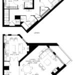 57 Brock - Skytown 8 - Floorplan