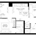 57 Brock - Temple - Floorplan