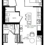 57 Brock - Yukon - Floorplan
