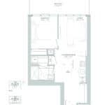 65 Broadway Condos - 1G - Floorplan