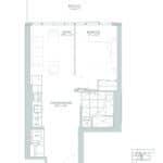 65 Broadway Condos - 1I - Floorplan