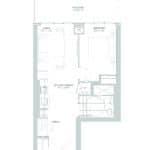 65 Broadway Condos - 1J+M - Floorplan