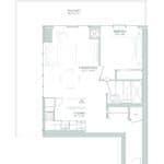 65 Broadway Condos - 1M - Floorplan