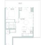 65 Broadway Condos - 1P - Floorplan
