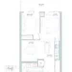 65 Broadway Condos - 1Q - Floorplan