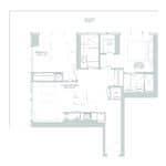 65 Broadway Condos - 2E - Floorplan