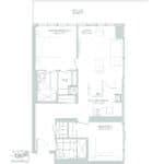 65 Broadway Condos - 2H - Floorplan