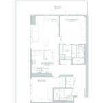 65 Broadway Condos - 2I - Floorplan