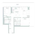 65 Broadway Condos - 2J - Floorplan