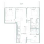 65 Broadway Condos - 2L+D - Floorplan