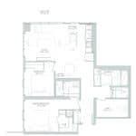 65 Broadway Condos - 2N+D - Floorplan