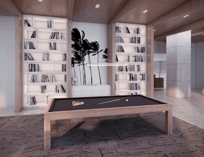 65 Broadway Condos - Games Room - Interior Render