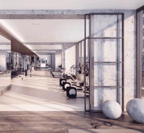 65 Broadway Condos - Gym - Interior Render