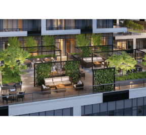 65 Broadway Condos - Terrace - Exterior Render