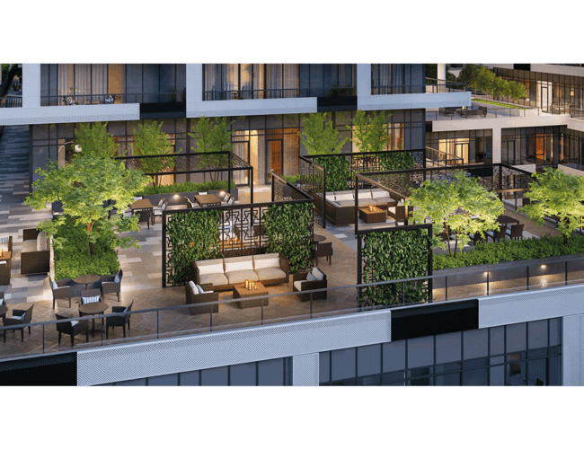 65 Broadway Condos - Terrace - Exterior Render