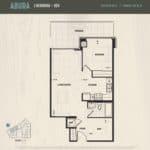 Oak & Co Condos - Abura - Floorplan