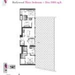 Artists' Alley Condos - Burlywood - Floorplan