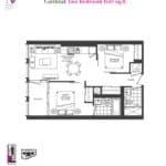 Artists' Alley Condos - Cardinal - Floorplan