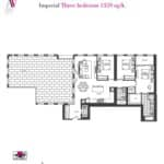 Artists' Alley Condos - Imperial - Floorplan