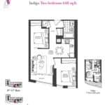 Artists' Alley Condos - Indigo - Floorplan