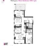 Artists' Alley Condos - Mahogany - Floorplan