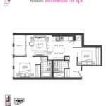 Artists' Alley Condos - Mindaro - Floorplan