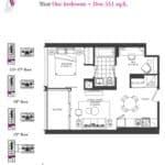 Artists' Alley Condos - Mint - Floorplan