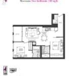 Artists' Alley Condos - Moccasin - Floorplan