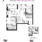 Artists' Alley Condos - Moonstone - Floorplan