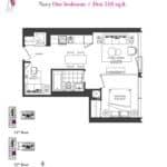 Artists' Alley Condos - Navy - Floorplan