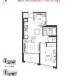 Artists' Alley Condos - Olive - Floorplan