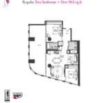 Artists' Alley Condos - Regalia - Floorplan
