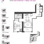 Artists' Alley Condos - Silver - Floorplan