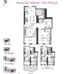 Artists' Alley Condos - Sunglow - Floorplan