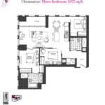 Artists' Alley Condos - Ultramarine - Floorplan