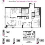 Artists' Alley Condos - Vermillion - Floorplan