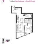 Artists' Alley Condos - Viridian - Floorplan
