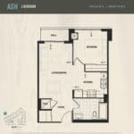 Oak & Co Condos - Ash - Floorplan
