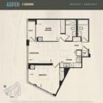 Oak & Co Condos - Aspen - Floorplan