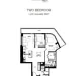 Avenue 151 Yorkville Condos - UPH03 - Floorplan