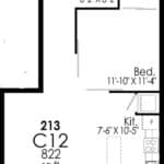 B-Line Condos - Suite C12 - Floor Plan
